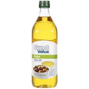 Great Value: Pure Olive Oil, 25.5 oz
