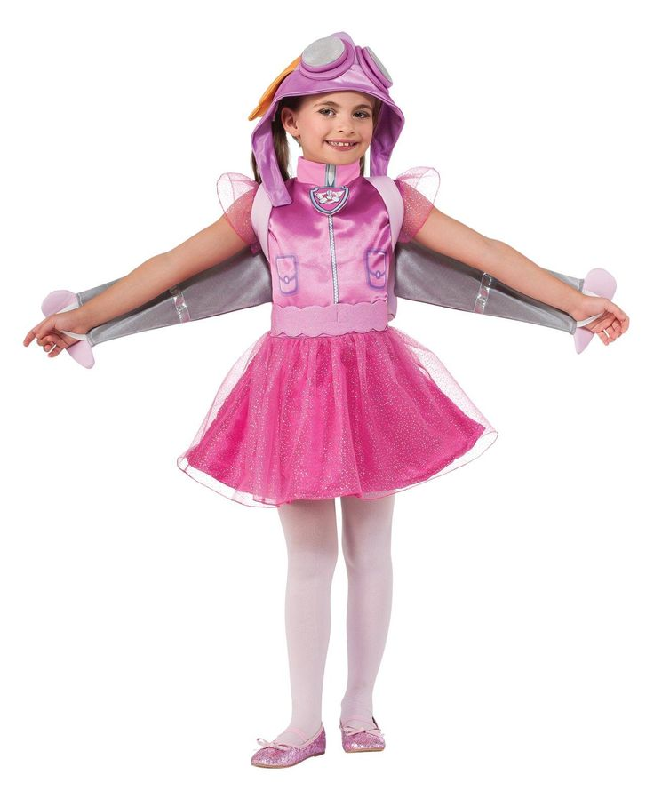 Paw Patrol Skye Toddler/Child Costume from BirthdayExpress.com