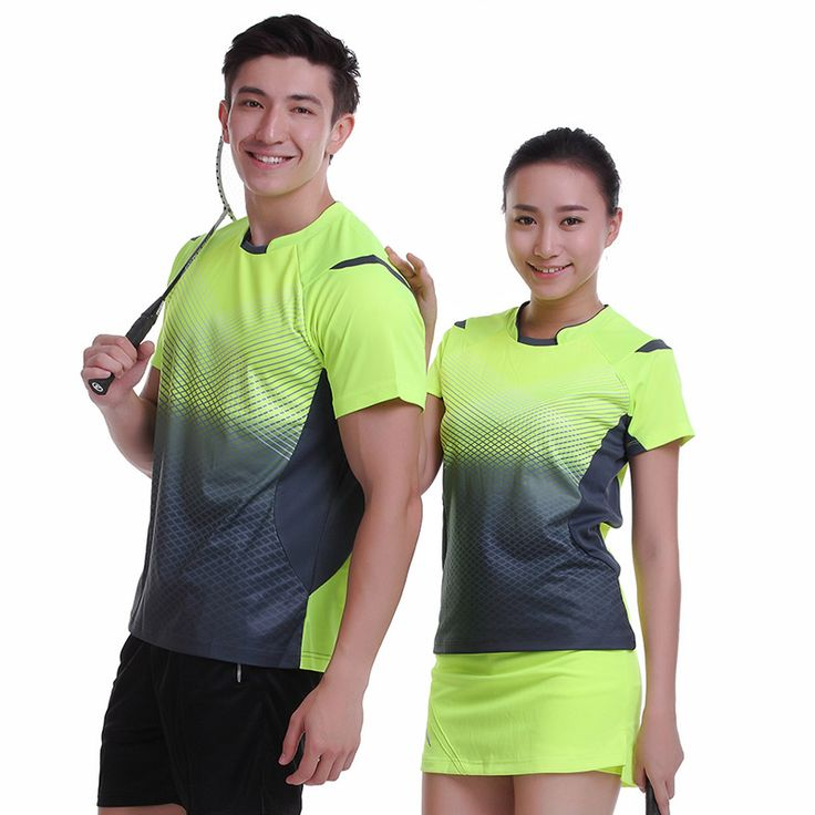 Badminton wear short-sleeved shirt suit men/women's clothes ball movement breathable sportswear Free shipping