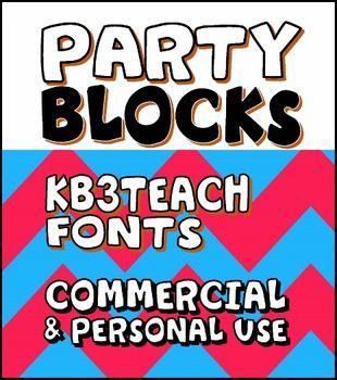 Download FONTS: KB3 BOLD FONTS PACK#2 (6-Font Set) Personal ...