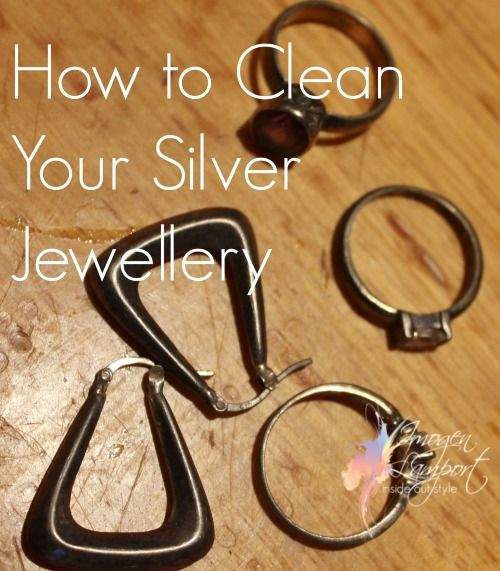 How to Clean Your Silver Jewellery without using silver polish