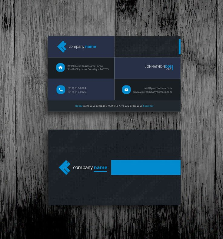 13 best business card templates free vector psd print ready black blue business card template free colourmoves