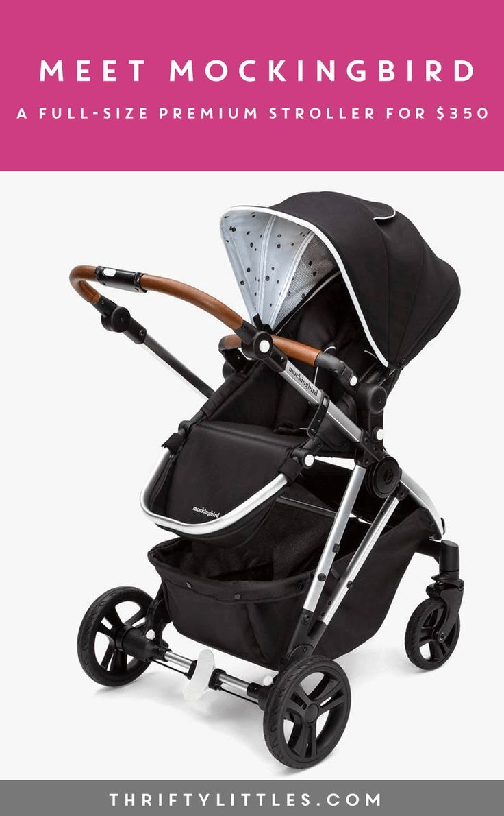 Meet Mockingbird, a Premium FullSize Stroller for 350