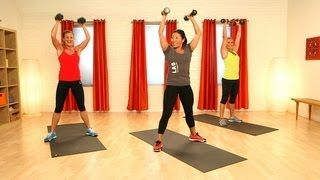 CrossFit Workout With Weights | Full-Body Exercise | Class FitSugar, via YouTube.