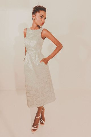 Starstruck Dress - Cream/Silver – Blackeyed Susan