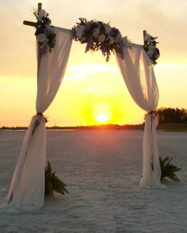 Wedding Altar Hire: 1000+ Ideas About Simple Wedding Arch On Pinterest