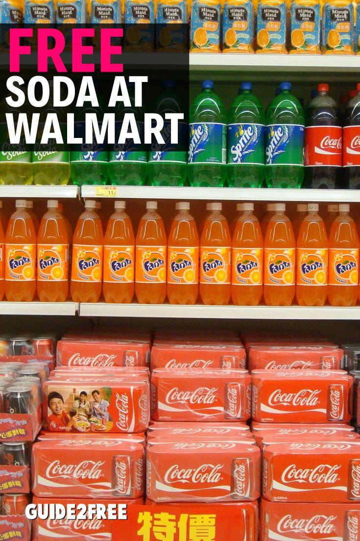 FREE Bottle of Soda at Walmart | Free Samples of Food