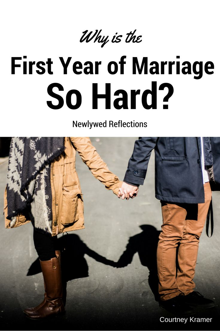 The first year was hard, but not in the ways I expected. Sometimes life throws things at you that you weren't expecting  newlywed advice love marriage dating engaged bride groom wedding romance