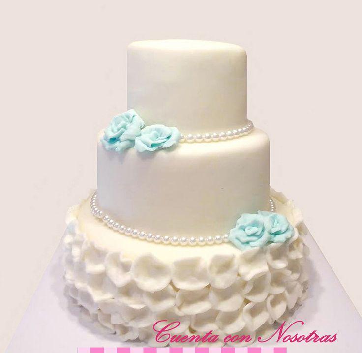 Torta de novios Torta de boda Wedding Cake