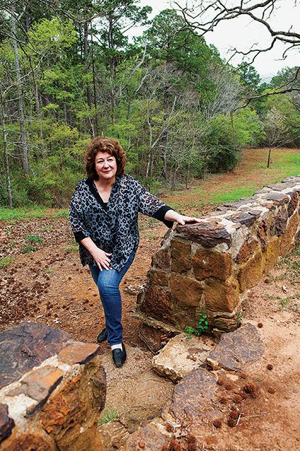 """You can take the movie star out of Texas, but you can't take Texas out of the movie star. Actress Margo Martindale still likes to hang out in her East Texas hometown of Jacksonville. """"It is hard to stay away,"""" she says. """"My very favorite place there is Lake Jacksonville. I grew up on that lake."""""""