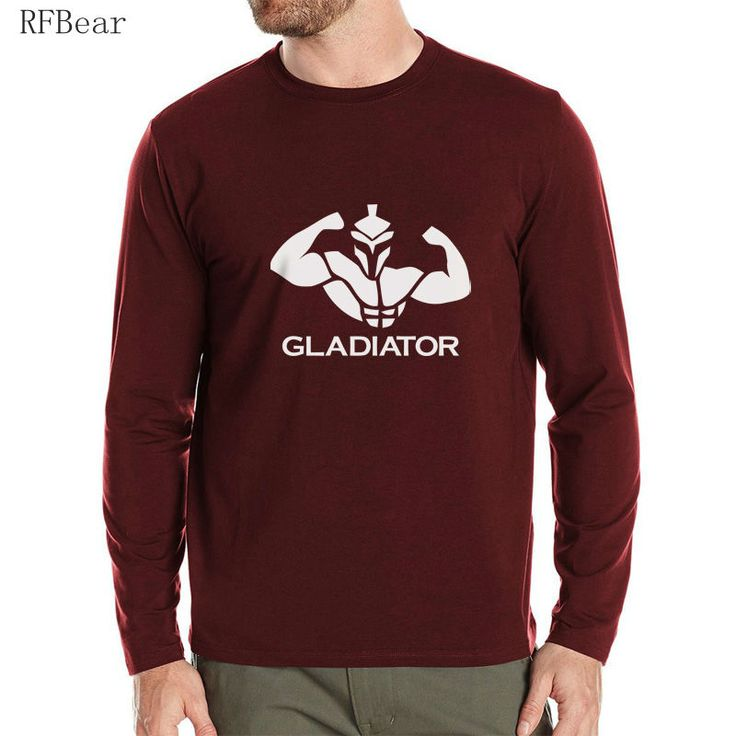 RFBEAR Brand man t shirt 2017 New spring Autumn Long Sleeve T-shirt Brand arder Men's t shirt Crewneck fashion Printed muscle XL