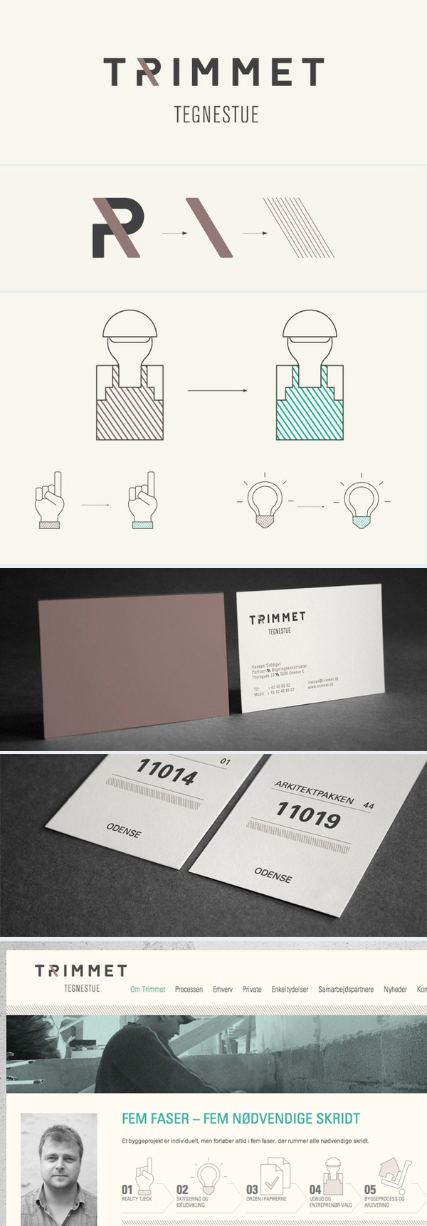 visual identity + logo + branding