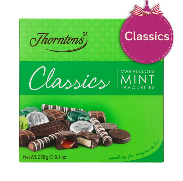 Thorntons Classics - Mint Great for taking as a present when we're dinner guests