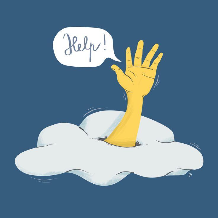 Help from the sky by Dolynda www.dolynda.cz