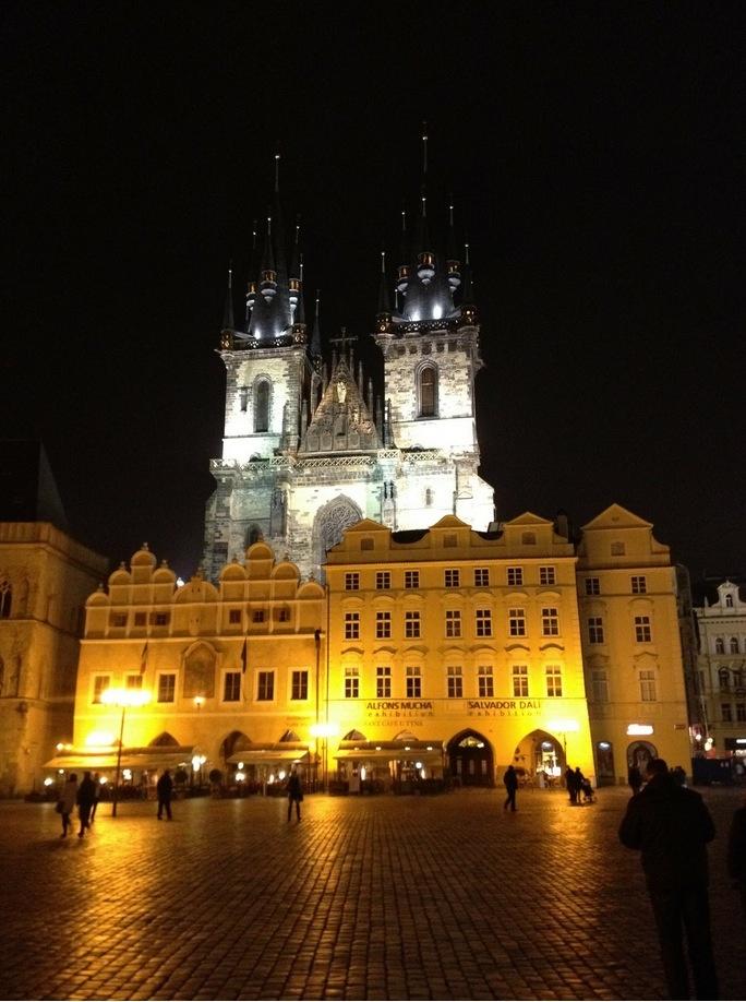 Old Town Prague - Czech Republic .➤