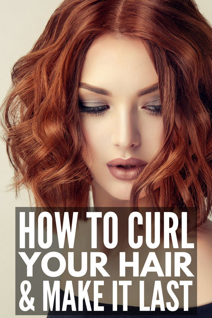 10 Tips To Teach You How To Curl Your Hair And Make It Last How To Curl Short Hair How To Curl Your Hair Short Hair Tutorial