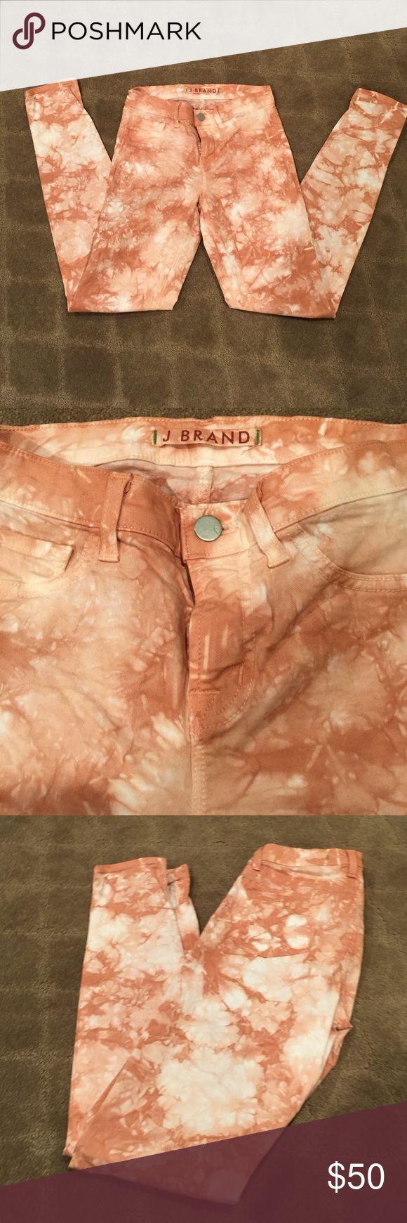 J Brand Tye Dye Jeans J brand skinny jeans. Size 26. Excellent condition J Brand Jeans Skinny