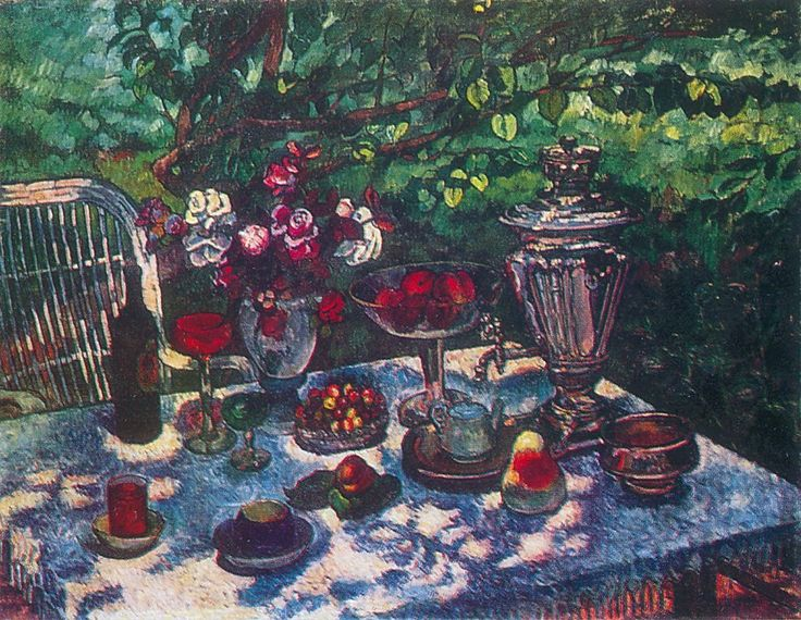 Uncleared table - Ilya Mashkov