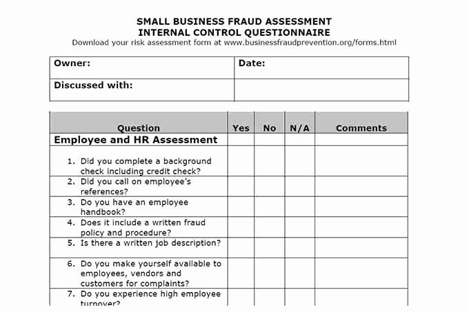 Internal Audit Forms Template In 2020 Internal Audit Book