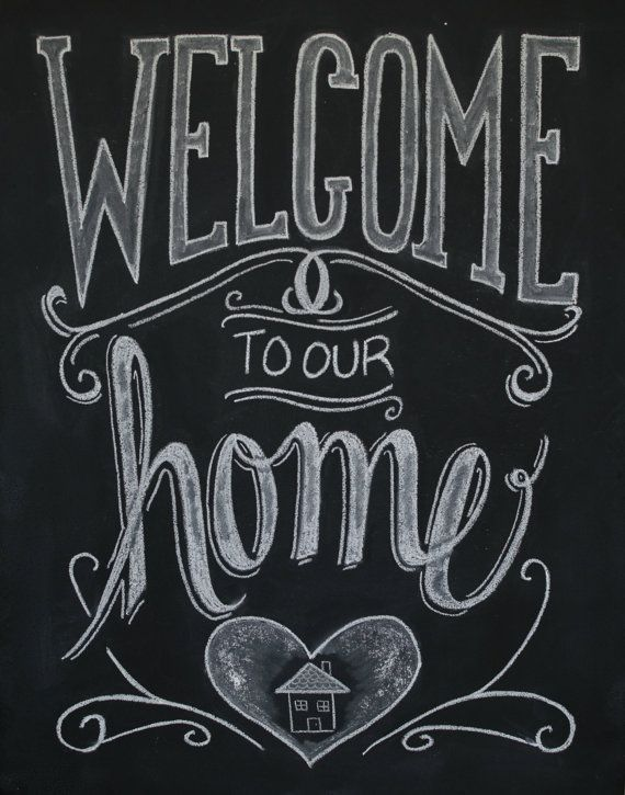 chalkboard welcome print chalkboard art welcome sign welcome to