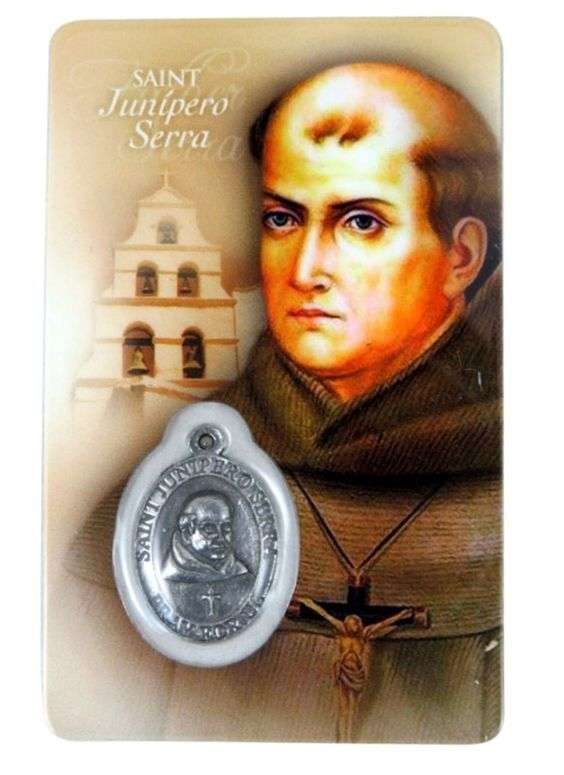 """Thought for the Day – July 1 #pinterest The word that best describes St Junipero is zeal. It was a spirit that came from his deep prayer and dauntless will. """"Always forward, never back"""" was his motto. His work bore.........."""