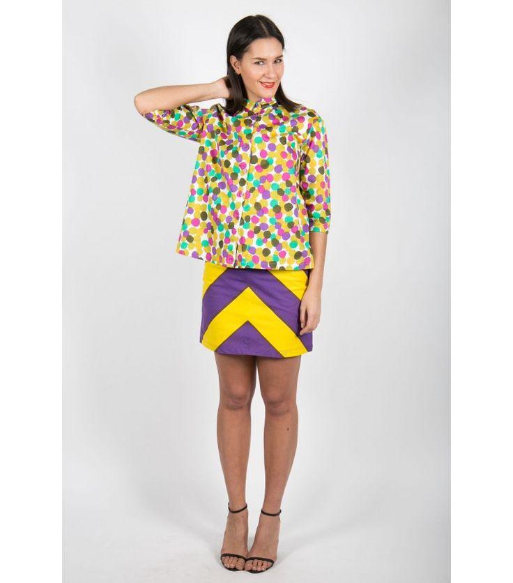Marimekko Multicolor Dot Top - WST
