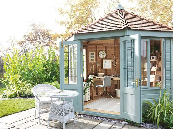 John Lewis Crane FSC certified Scandinavian redwood round pavilion summerhouse