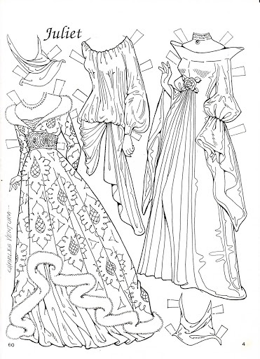 Romeo and Juliet Coloring Paper Dolls by Charles Ventura - Nena bonecas de papel - Picasa Web Albums * 1500 free paper dolls Arielle Gabriel's The International Paper Doll Society #QuanYin5 Twitter QuanYin5 Linked In *