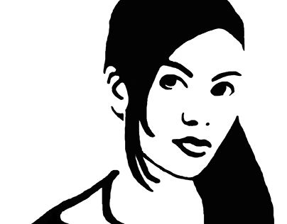 """Check out new work on my @Behance portfolio: """"Auto retrato em Stencil. Self portrait in stencil"""" http://be.net/gallery/51022867/Auto-retrato-em-Stencil-Self-portrait-in-stencil"""