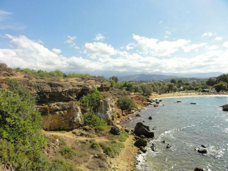Strandje bij Platia Kanari