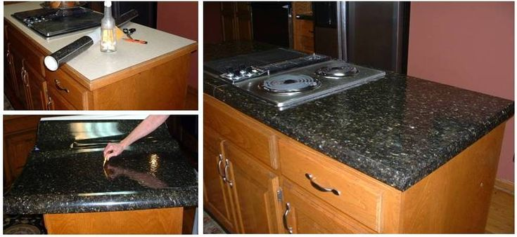 10 Best Images About Ez Faux Granite Ideas On Pinterest Set Of Faux Granite Countertops And