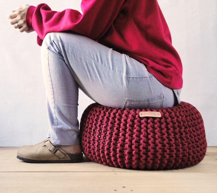 | Puff | Pouf | プーフ | Scrap textil | MIDORI ATELIER