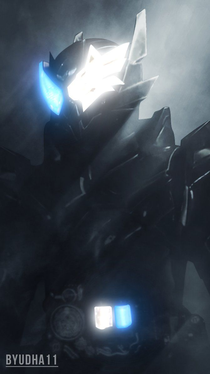 Kamen Rider Build : Smapho Wolf Hazard Wallpaper by Byudha11