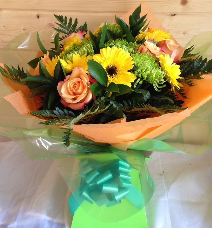 Bright and beautiful flowers at www.tulipsandhollysurrey.com