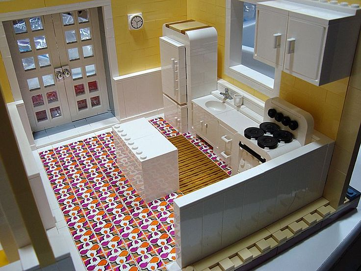Marvelous Lego Kitchen   So Realistic! Part 11