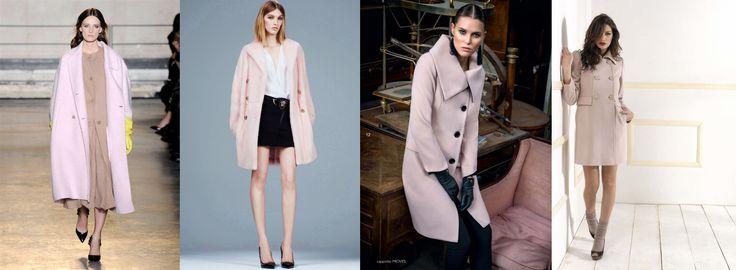 10 tendenze moda Autunno Inverno 2014/15: IL CAPPOTTO ROSA Punto Blu Boutique - Tarquinia