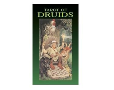 Tarot of Druids - The Druids are well known throughout folklore for being able to read in to spirituality and have a gift of insight in to the future.     This deck incorporates their ways in to a tarot pack bring this old fashioned folklore back to life and in to modern day.