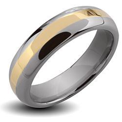 @Overstock.com - Men's Tungsten Carbide Gold Stripe Ring - Wear your tungsten and gold ring every day in the office or while working construction and never worry about it getting scratched or damaged. This comfort-fit band made is four times harder than titanium with a gold plated center stripe.  http://www.overstock.com/Jewelry-Watches/Mens-Tungsten-Carbide-Gold-Stripe-Ring/6405578/product.html?CID=214117 $42.99