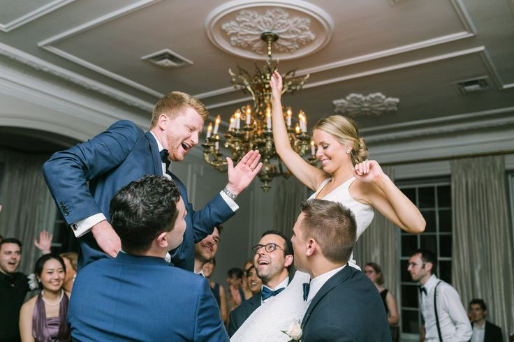 When it's you and your friends.  Graydon Hall Manor Wedding.  Photo by Elizabeth in Love.