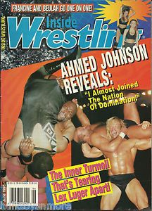 a revista wrestling interior ahmed johnson lex luger de junio de 1997 - Categoria: Sports Mem, Cards & Fan Shop  Estado del Producto: sin especificar The issue pictured is the actual issue you will receive. Please read the description below for Price: USD9,99 Ver Producto