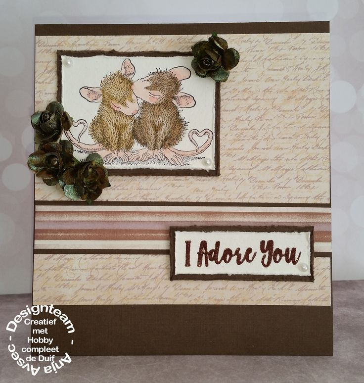House Mouse - Valentine kiss
