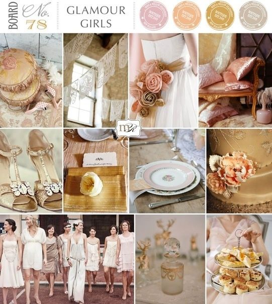 wedding pallete