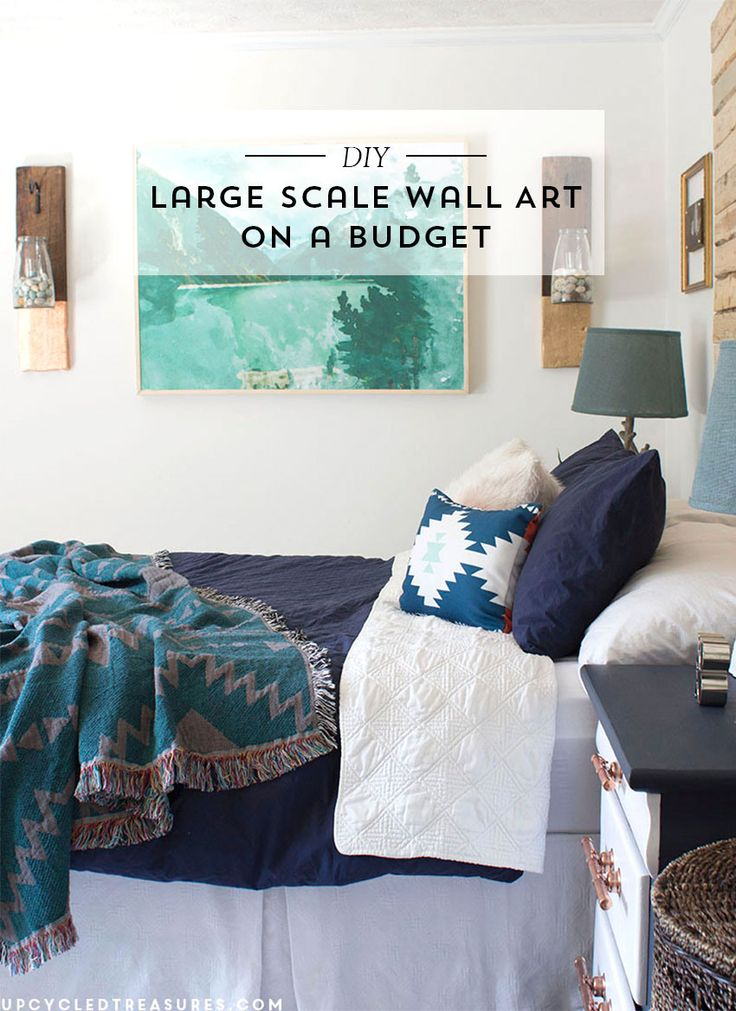 DIY Large Scale Wall Art