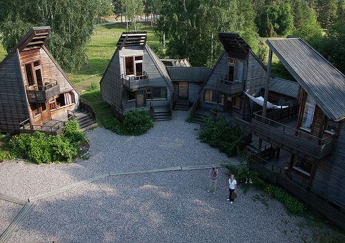 Ralph Erskine | Centro para las artes Skaparbyn | Gävle; Suecia| 1990-2001