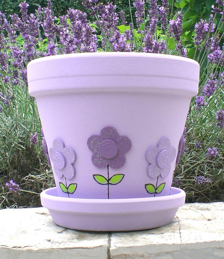 Lilac Flower Pot