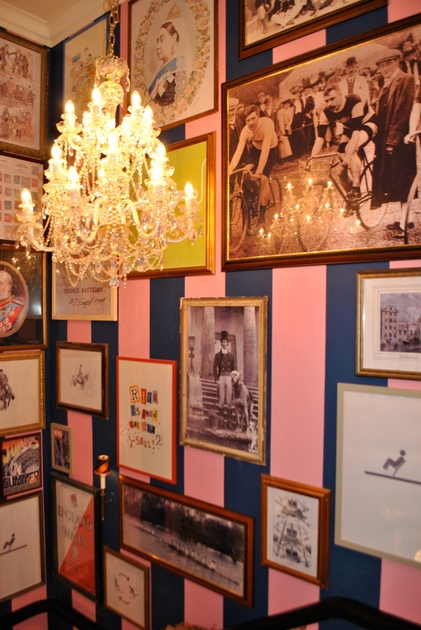 the inside of Jack Wills boutiques are exquisite. love em. i want that wallpaper.
