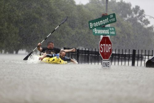 Hurricane Harvey lashes TexasA fleet of helicopters airboats...  Hurricane Harvey lashes Texas  A fleet of helicopters airboats and high-water vehicles confronted flooding so widespread that authorities had trouble pinpointing the worst areas. Rescuers got too many calls to respond to each one and had to prioritize life-and-death situations.  Anxiety ran high throughout the region between Corpus Christi and Houston because some of the areas with the greatest hurricane damage were…