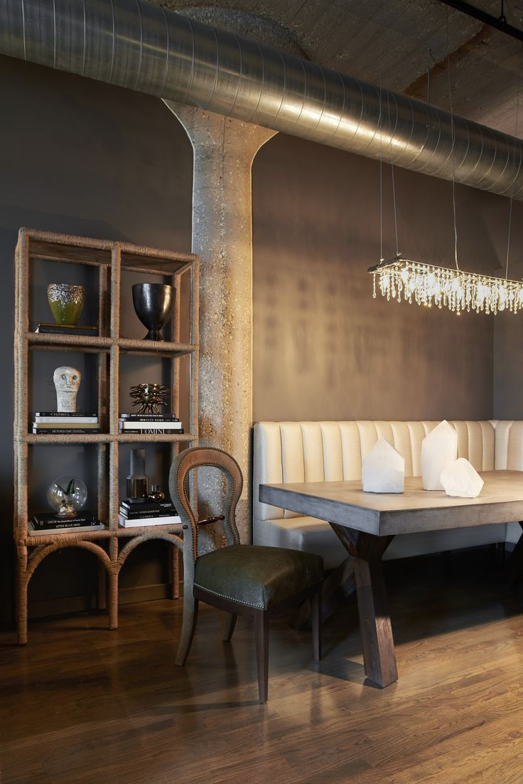 Stephen Young Design | River North, Chicago | Dining Room | Photography by Daniel Kelleghan