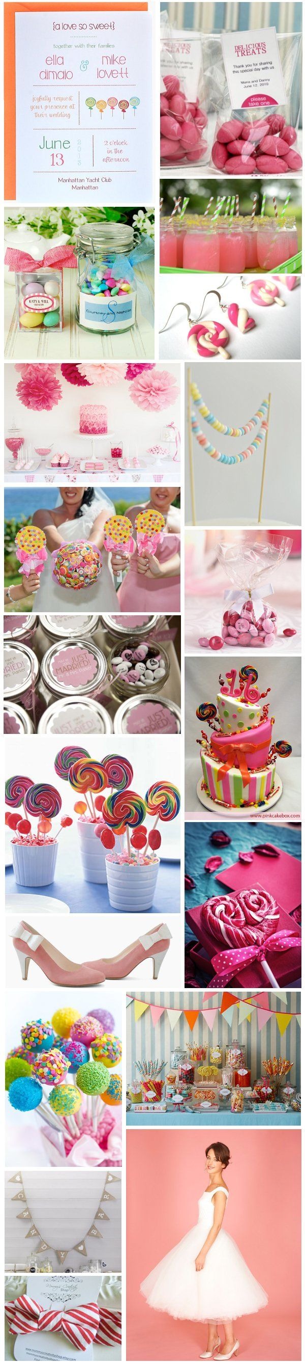 [Inspiration] Candy Wedding