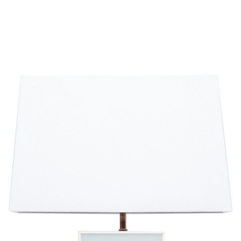 $17.48 at Target in Chandler Nate Berkus™ Rectangular Lamp Shade - White  (great price if this is the look and size you need)  hard to find but are in Chandler Target